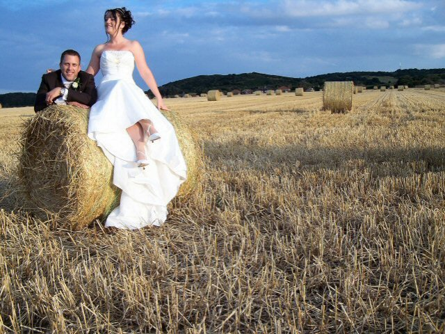 Adventurous bridal pictures with a difference
